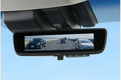 Digital inner mirror (Digital mode)
