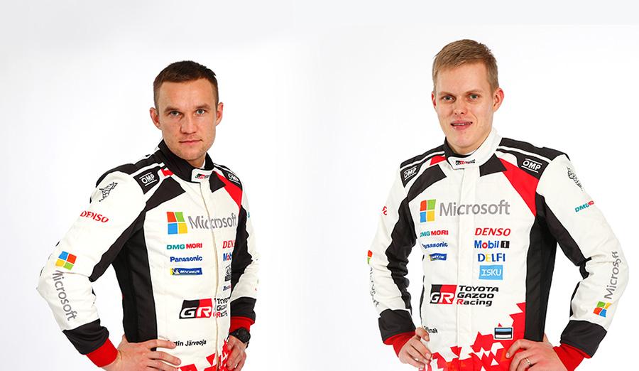 Martin Järveoja and Ott Tänak