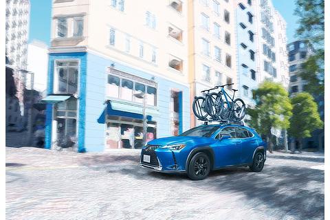 """UX200 特別仕様車""""Blue Edition""""(セレスティアルブルーガラスフレーク)<オプション装着車>"""