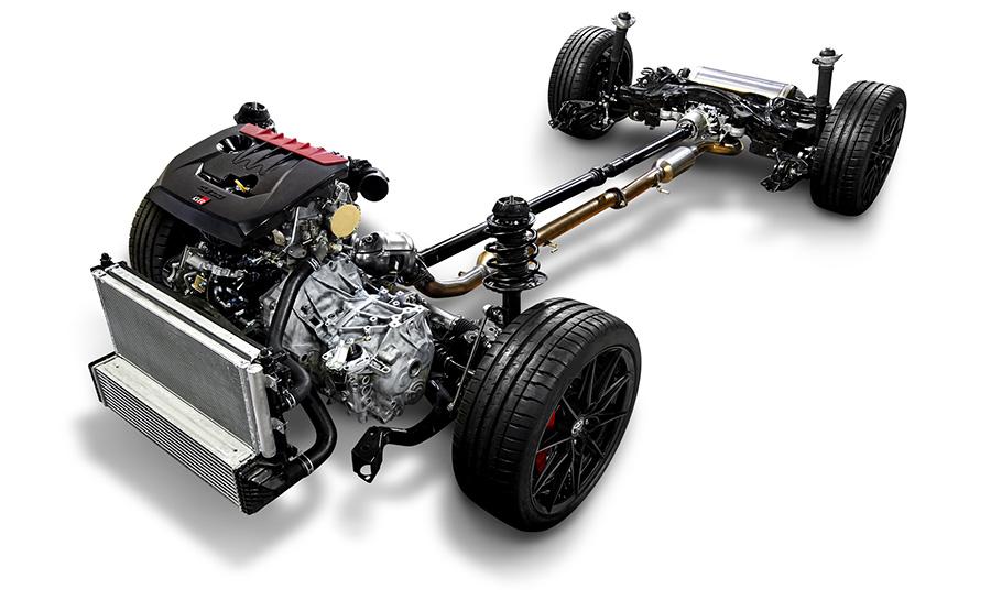 """1.6L直列3気筒直噴ターボエンジン+スポーツ4WDシステム""""GR-FOUR"""""""