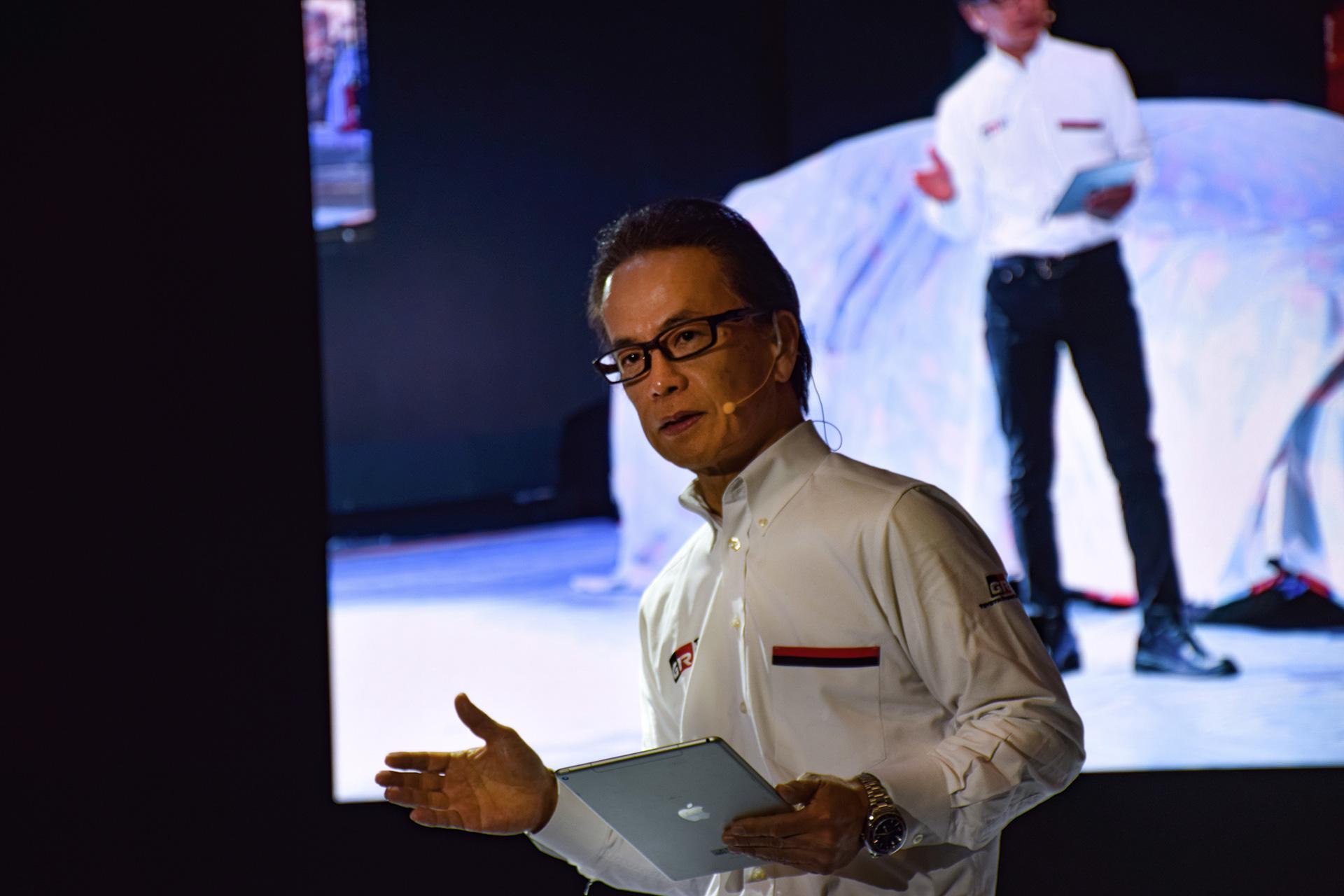TOYOTA GAZOO Racing Press Conference:GAZOO Racing Company President Shigeki Tomoyama's Speech at TOKYO AUTO SALON 2020 - Image 1
