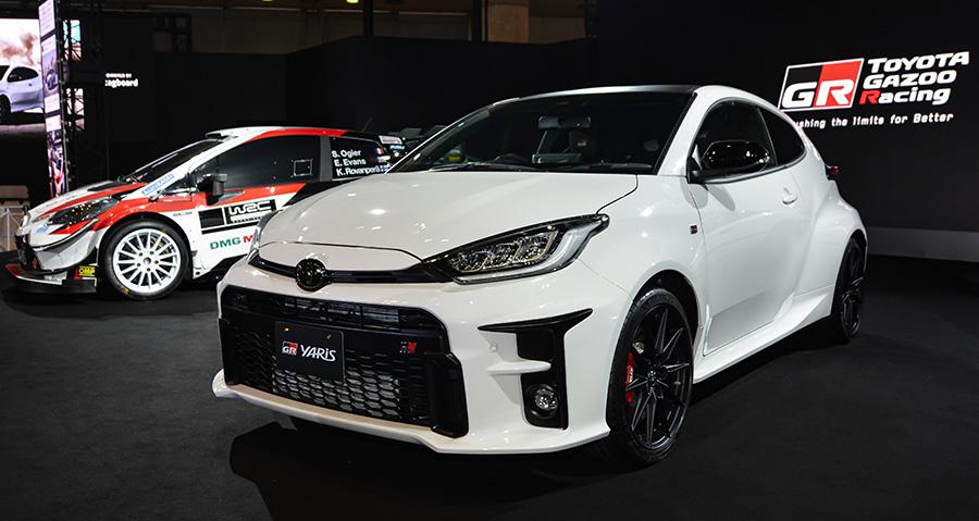 """先行予約限定モデル 特別仕様車 RZ""""High-performance・First Edition""""<オプション装着車>(東京オートサロン2020 展示車両)"""