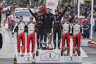 【ドライバー】ジュリアン・イングラシア/セバスチャン・オジエ/エルフィン・エバンス/スコット・マーティン 2020 WRC Round 1 Rallye Monte-Carlo