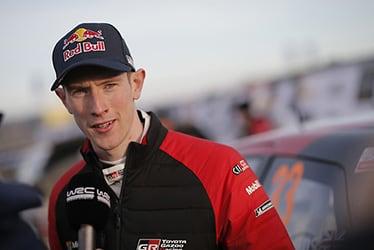 【ドライバー】エルフィン・エバンス 2020 WRC Round 2 Rally Sweden