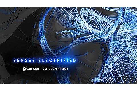 LEXUS DESIGN EVENT 2020 Key visual