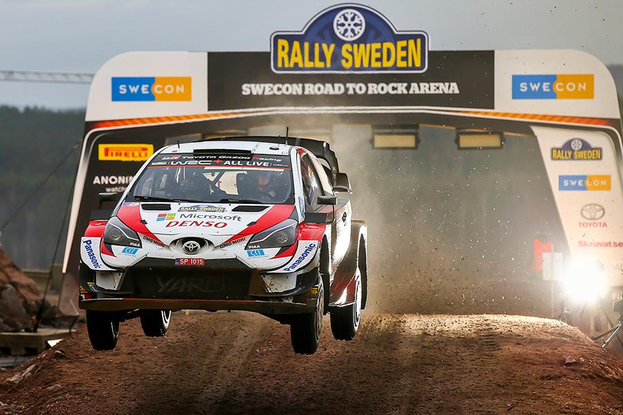 WRCヤリス