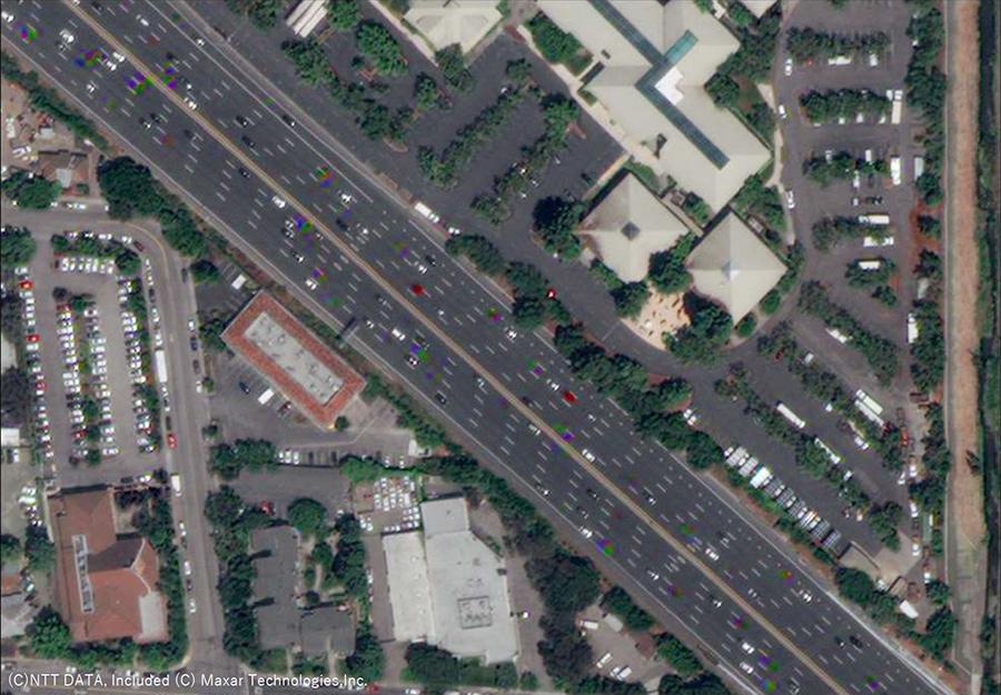 Image 1. Base overhead satellite imagery