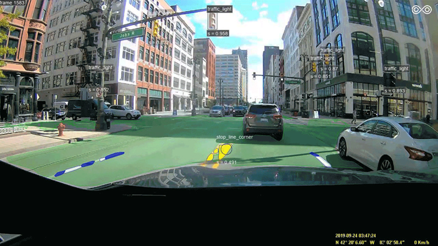 Image 5. Urban street-level object detection