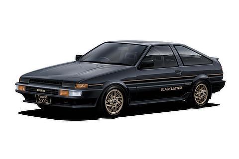 """AE86型スプリンタートレノ 特別仕様車 GT""""ブラックリミテッド"""""""