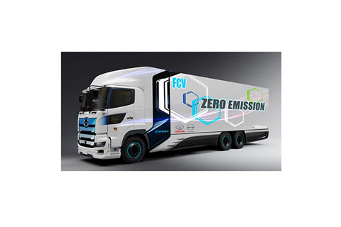 Heavy-Duty Fuel Cell Truck (Image)