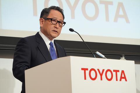 トヨタ自動車株式会社 代表取締役社長 豊田 章男