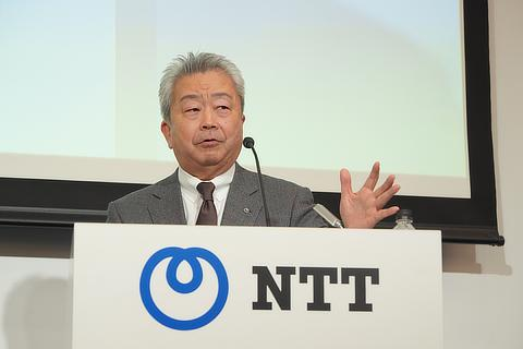 日本電信電話株式会社 代表取締役社長 澤田 純