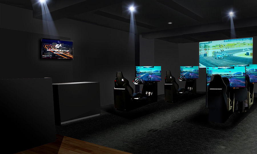 e-Motorsports Studioイメージ