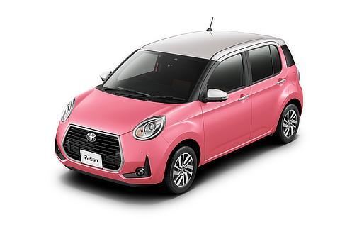 """特別仕様車 MODA""""Charm""""(2WD)(ホワイトパールマイカ×ジューシーピンクメタリック)<オプション装着車>"""