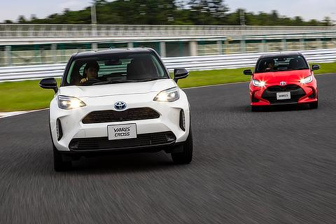 All-new Yaris Cross (prototype) & Yaris Hybrid G