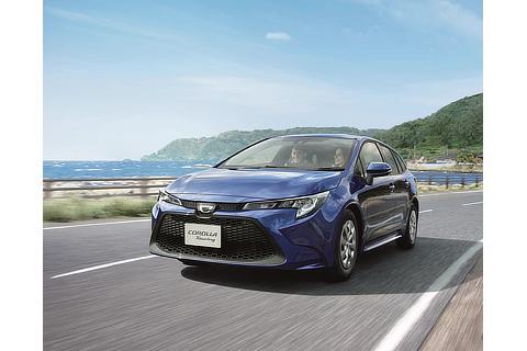 """カローラ ツーリング 特別仕様車 G-X""""PLUS""""(ダークブルーマイカメタリック)"""