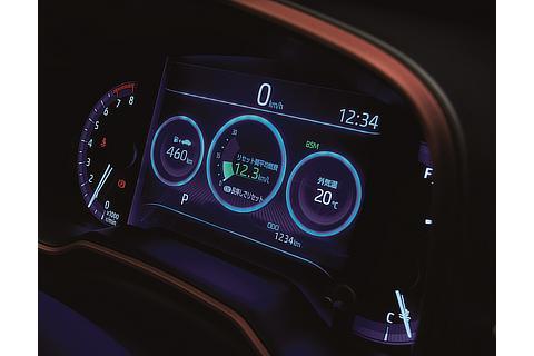 """カローラ ツーリング 特別仕様車 """"2000 Limited""""(オプティトロン3眼メーター+7.0インチTFTカラーマルチインフォメーションディスプレイ)"""