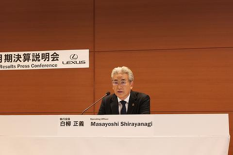 Masayoshi Shirayanagi, Operating Officer