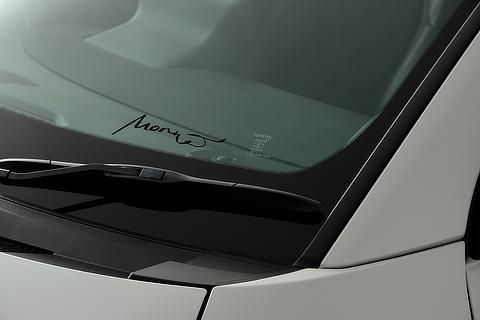 "RZ ""First Edition"" Morizo-signature on windshield glass"