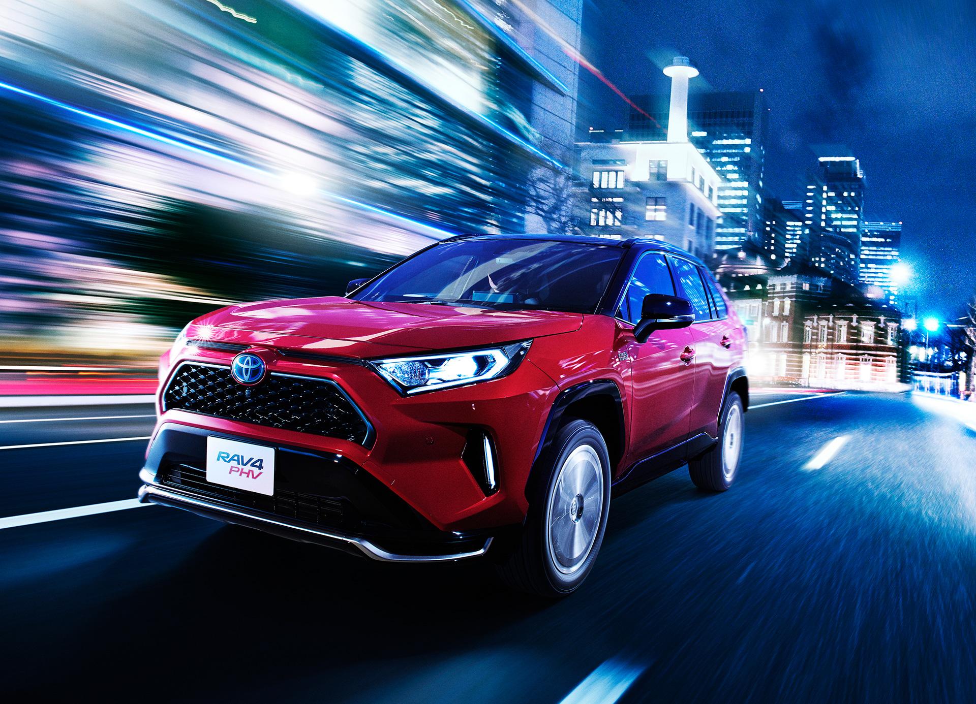 Toyota Launches New Model RAV4 PHEVBoosting the Intrinsic Driving Pleasure of RAV4 - Image 4
