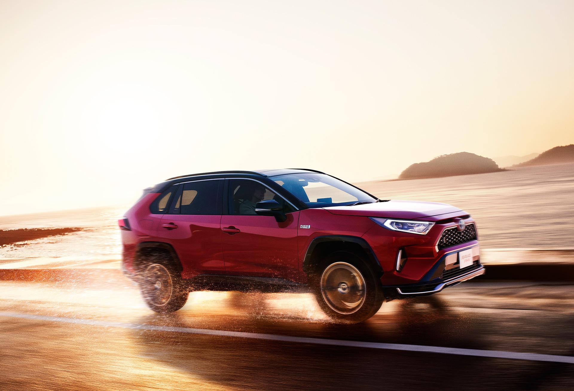 Toyota Launches New Model RAV4 PHEVBoosting the Intrinsic Driving Pleasure of RAV4 - Image 5