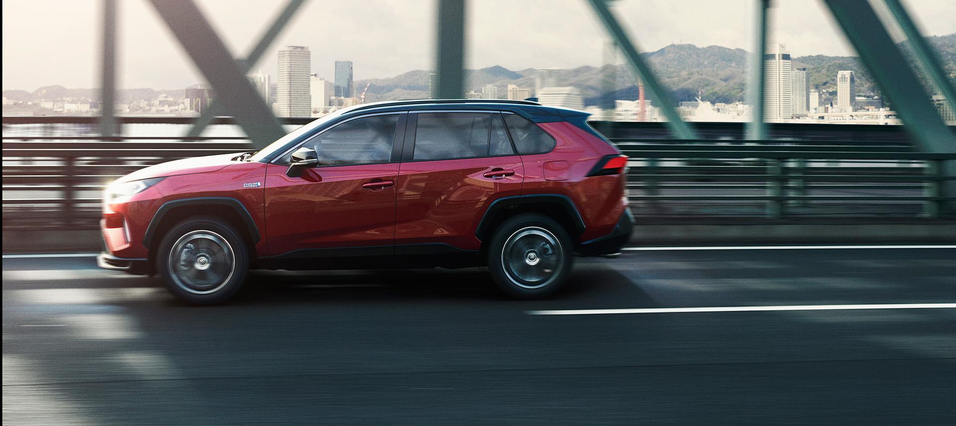Toyota Launches New Model RAV4 PHEVBoosting the Intrinsic Driving Pleasure of RAV4 - Image 8