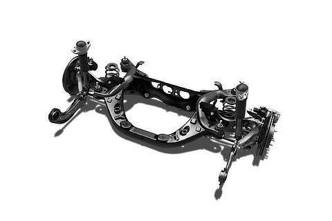 Double wishbone suspension