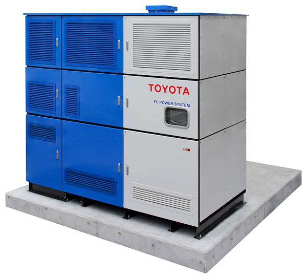 Exterior of FC Generator