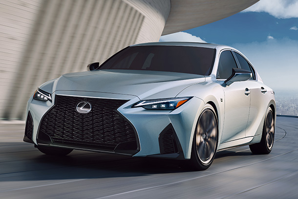 Lexus Premieres New IS