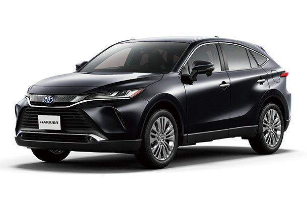 Toyota Launches New Model Harrier in Japan