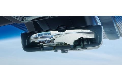 デジタルインナーミラー(前後方録画機能付)鏡面ミラーモード