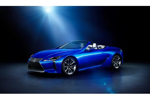 "LC500 Convertible特別仕様車""Structural Blue""(ストラクチュラルブルー)"