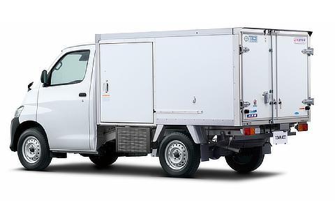 TECS 冷凍車 リヤ オプション装着車
