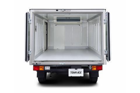 TECS中温冷凍車 庫内 オプション装着車