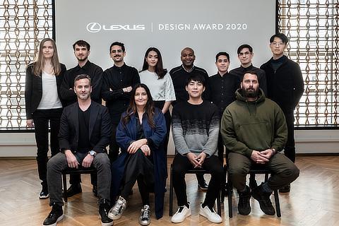 LEXUS DESIGN AWARD 2020 メンター・ファイナリスト(2020年1月撮影)