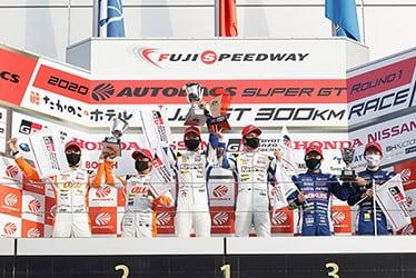 【ドライバー】サッシャ・フェネストラズ/関口 雄飛/平川 亮/ニック・キャシディ/大嶋 和也/坪井 翔 SUPER GT 第1戦 富士 たかのこのホテル FUJI GT 300km RACE