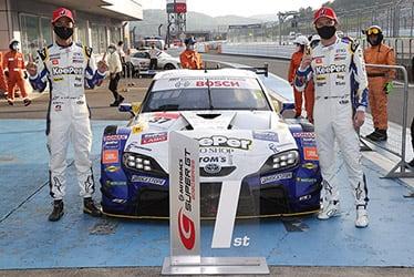【ドライバー】平川 亮/ニック・キャシディ SUPER GT 第1戦 富士 たかのこのホテル FUJI GT 300km RACE