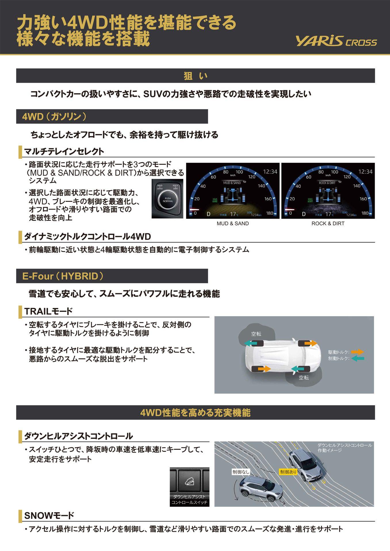 4WD性能