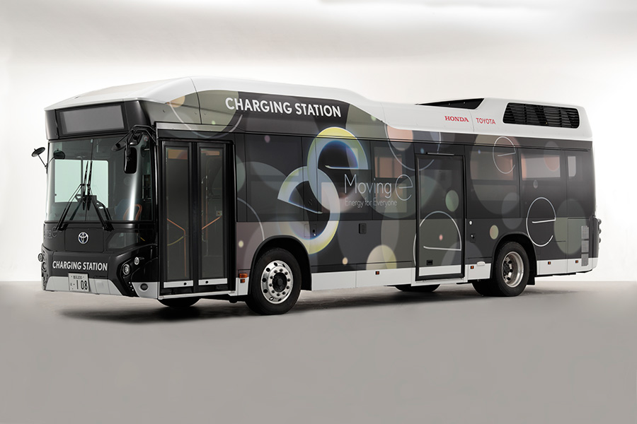 CHARGING STATION fuel cell bus