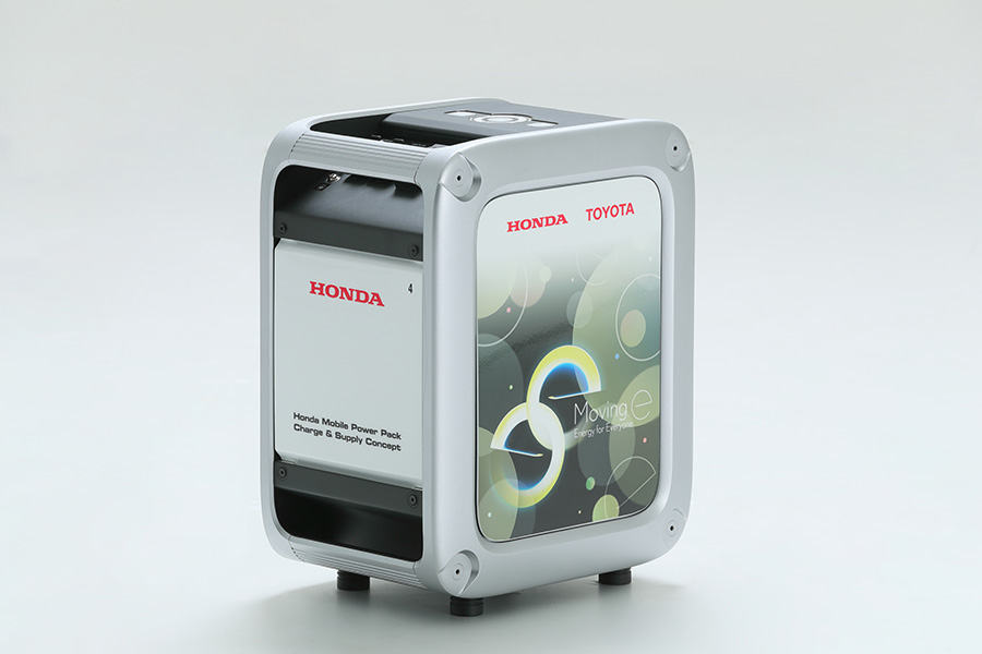 Honda Mobile Power Pack Charge & Supply Concept