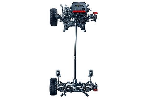 """GR-FOUR"" sports 4WD system"