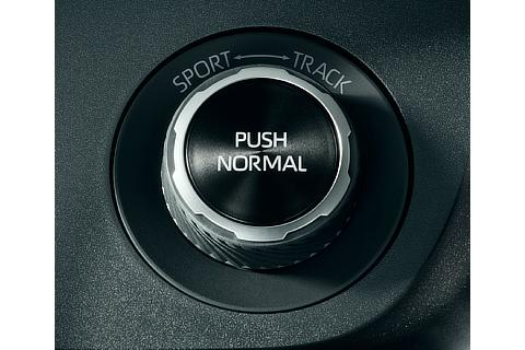 4WD mode dial switch (NORMAL / SPORT / TRACK)
