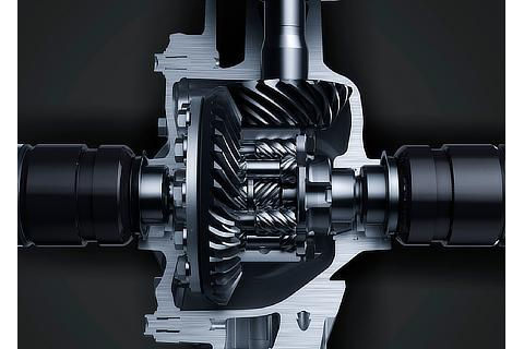 Torsen® limited-slip differential