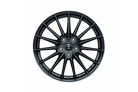18-inch cast aluminum wheel