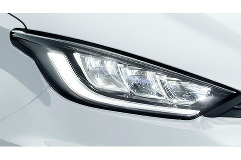 Four-full LED headlamp