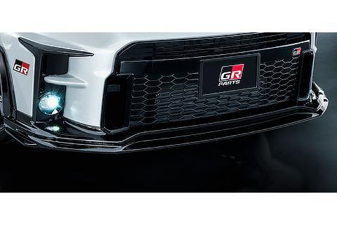 GR Front spoiler / GR Carbon license plate