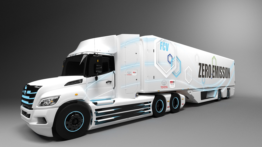 Class 8 Fuel Cell Electric Truck