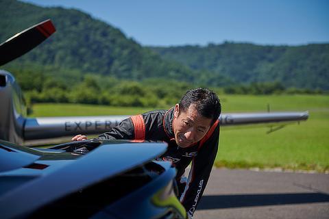 エアロバティック・パイロット 室屋 義秀選手