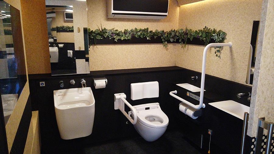 移動型バリアフリートイレ「モバイルトイレ」