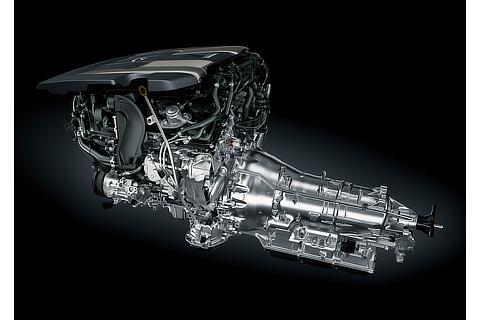 V6 3.5Lツインターボエンジン